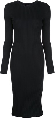 RE/DONE fitted ribbed dress