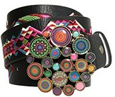 Desigual Women's Chapon Xl Wild Rose Belt