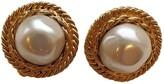 Chanel Baroque Gold Pearls Earrings