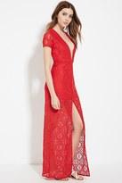 Forever 21 V-Neck Lace Maxi Dress