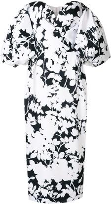 Rasario Floral-Print Puff Sleeve Dress