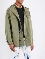 Palm Angels Jessica cotton-blend parka jacket