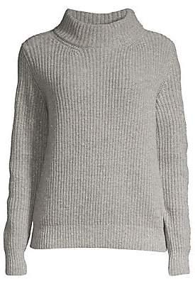 Peserico Women's Rib-Knit Merino Wool & Cashmere-Blend Sweater