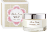 Bath House Damask Rose Violet Hand Cream by 50ml Cream)