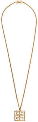 Givenchy Gold Pearl 4G Necklace