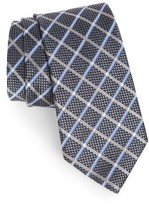 Nordstrom Men's Diamond Grid Silk Tie