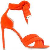 Nicholas Kirkwood 105mm Ziggy sandals - women - Suede/Leather - 35.5