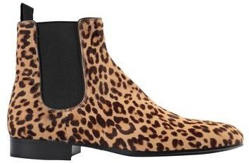 Mens Leopard Boots | Shop the world's