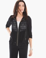 Chico's Neema Textured Mix Jacket