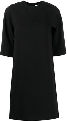 Victoria Victoria Beckham ruffled T-shirt jersey dress