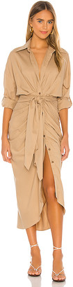 Divine Heritage Button Up Shirt Dress