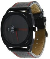 Impulse Women's IM8015G-BLR Rotary Dial Metal Dial with Leather Band Watch