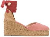 Castaner Chiara wedge sandals - women - Cotton/Leather/rubber - 36