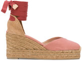 Castaner Chiara wedge sandals - women - Cotton/Leather/rubber - 38