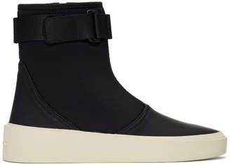 Fear Of God Black Scuba Boot Sneakers
