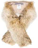 Pologeorgis Coyote Fur Stole w/ Tags