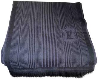 Louis Vuitton Black Cashmere Scarves & pocket squares