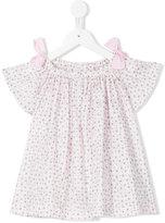 Il Gufo floral print top - kids - Cotton/Spandex/Elastane - 4 yrs