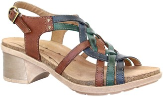 Dromedaris Adjustable Leather Strap Sandals - Sasha