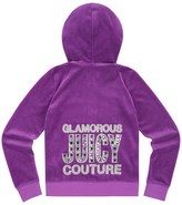 Juicy Couture Girls Logo Velour Juicy Gems Original Jacket