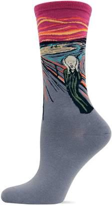 Hot Sox The Scream Crew Socks