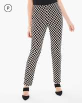 Chico's Slim-Leg Geometric Print Pants