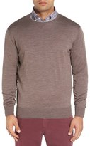 Peter Millar Men's Crewneck Merino Wool & Silk Sweater