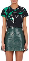 Valentino Women's Panther-Print Cotton Jersey T-Shirt