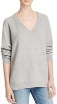 Alexander Wang Wool-Cashmere V-Neck Sweater