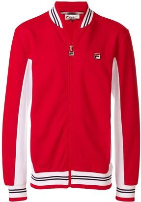 Fila Bicolour Zipped Sports Jacket