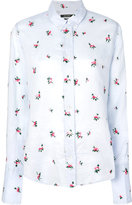 Isabel Marant Uliana floral-embroidered shirt - women - Ramie - 40