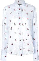 Isabel Marant Uliana floral-embroidered shirt