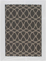 Momeni Baja Circles Indoor/Outdoor Rectangular Rug