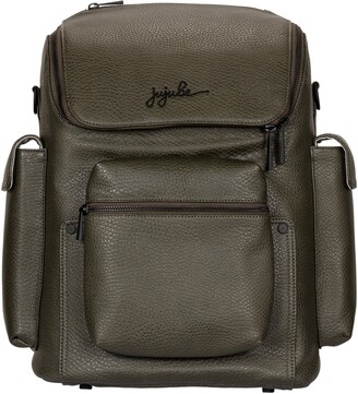 Ju-Ju-Be Ever Collection Forever Faux Leather Diaper Backpack