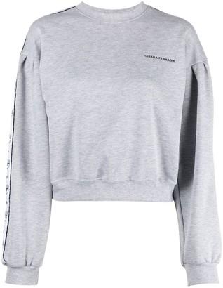 Chiara Ferragni Logo Tape-Detail Sweatshirt