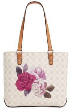 Giani Bernini Signature Rose Tote, Created For Macy's