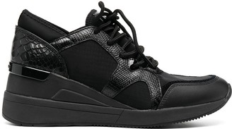 MICHAEL Michael Kors Low-Top Wedge Trainers