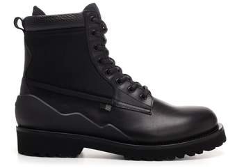 Woolrich Lace-Up Back Zip Ankle Boots