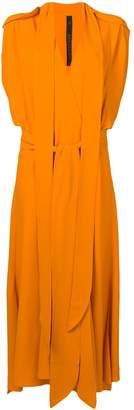 Petar Petrov long draped design dress