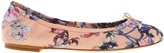Felicia Printed Floral Flat Shoe - Multi