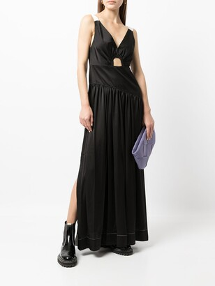 3.1 Phillip Lim V-neck long dress