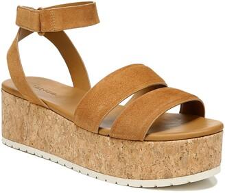 Vince Jet Cork Platform Sandal
