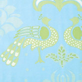 Citrus Peacock Fabric by the Yard