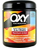 Oxy Maximum Action 3-In-1 Treatment Pads, 90 Count