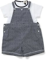 Armani Junior Boys Boxed 2 Piece Set - Overalls & Tee