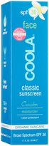 Coola Moisturizing Face Sunscreen SPF 30, Cucumber, 1.7 oz