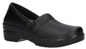 Easy Street Shoes Easy Works Laurie Slip Resistant Clogs Women's Shoes