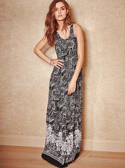 Victoria's Secret Racerback Maxi Dress