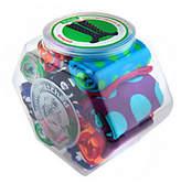 LittleMissMatched Little MissMatched little missmatched Marvelous Dots 12-pack Jar of Knee High Socks