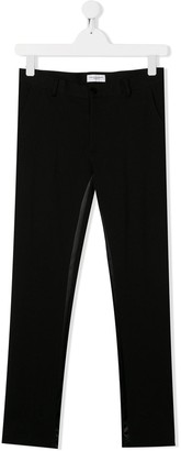 Paolo Pecora Kids TEEN slim-fit tailored trousers